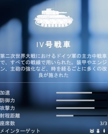 bf5 IV号戦車