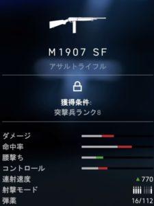 bf5 m1907 sf