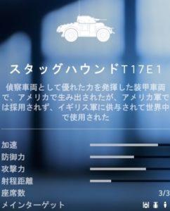bf5スタッグハウンドT17E1