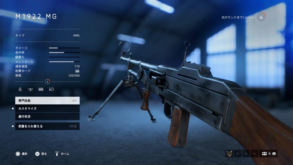 M1922 MG