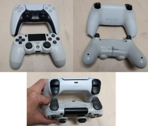 PS4、PS5コントローラー比較